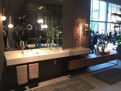 Banheiros do Salão do Móvel de Milão 2016 - Design Innova