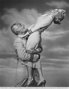 Jeff Chandler, Lana Turner - The Lady Takes a Flyer (1958)