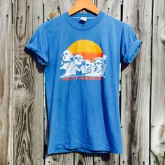 XS super soft vintage Mount Rushmore graphic tee Perfect vintage condition! True to size. Vintage Tops Tees - Short Sleeve