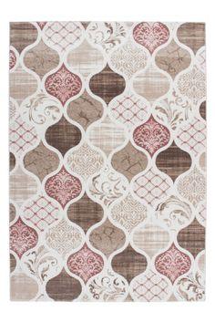 Teppich Fußboden Design Greece-Rhodes Pink 160cmx230cm K100222 Modacryl