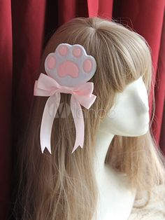 Sweet Lolita Headdress Cat Claw Pattern