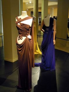 Madame Gres. Even though she rarely strayed from her technique, she produced infinite variety in the dresses she could make with it. She was really creative and visionary.