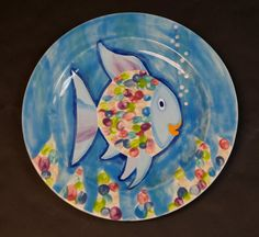 art auction idea - kinder or 1st grade class
