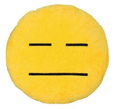 BeddingOutlet Naughty Cushion Home Decor Emoji Pillow Smiley Face Pillow Stuffed Toy Doll Best Sell