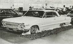 Now this are the rides we use to cruz in not this funky ass little rice rockets this young ass kids own today real deal chevys OG style baby 1963 Chevy Impala, 70s Cars, Lowrider, Old Skool, Amazing Cars, Back In The Day, Cruise, Rockets, Kids