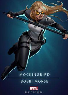 Mockingbird Marvel Women, Marvel Girls, Marvel Dc Comics, Marvel Heroes, Marvel Avengers, Hero Poster, Comic Poster, Mockingbird Marvel, Secret Avengers