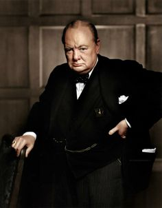 Winston Churchill, pictured in 1941 by Yousuf Karsh, one of the greatest wartime leaders of the 20th century.