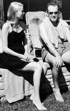 Young and on holiday