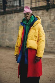 The Best Street Style From Paris Fashion Week Men's Men's Stree. - The Best Street Style From Paris Fashion Week Men's Men's Street Style Paris Fashion Week Casual Street Style, Men's Street Style Paris, Best Street Style, Style Casual, Men Casual, Paris Style, Casual Styles, Casual Wear, Fashion Week Paris