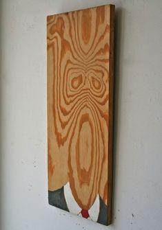 love it (obviously).  Bom aproveitamento de uma tábua de madeira. <3