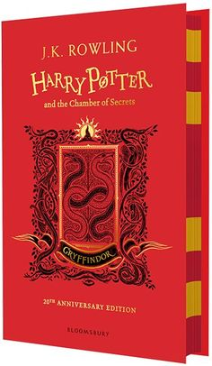 J. K. Rowling - Harry Potter and the Chamber of Secrets, 20th Anniversary Edition - Gryffindor