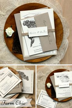 Beautiful Wedding Stationery from Beacon Lane for the Vintage Loving Modern Bride