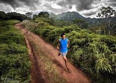 Kauai trail running...warm temps, beautiful fresh air filled with the scent of flowers...you should try it!