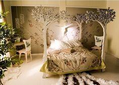 Imagined Winterfell bedroom for Arya Stark