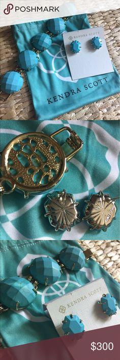 Kendra Scott Turquoise Morgans & Cassie Set Make an Offer using the offer button❤️ Kendra Scott Jewelry Earrings