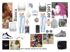 """""""Bestie"""" by queen-imani ❤ liked on Polyvore featuring Grotesk, WithChic, MICHAEL Michael Kors, NIKE, Charlotte Russe, Nila Anthony, Michael Kors, Black Apple, BMW and Forever 21"""