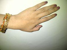 Adriane bracelet, revlon nail enamel in granite <3