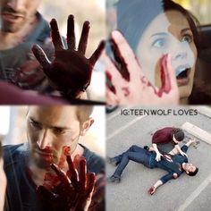 Teen Wolf - Derek ♥... hate that girl :/ yyyy her? Yyy :(