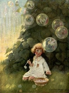 """The Bubble Fairies"": Frances Tipton Hunter"