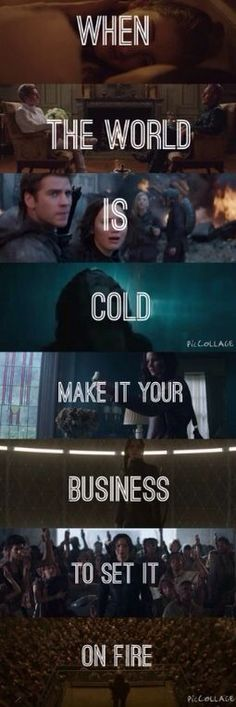 When the world is cold