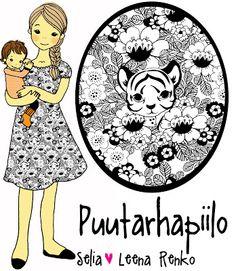 Selia: Puutarhapiilo -Luomujersey Comics, Sewing, Cards, Fabrics, Craft Ideas, Tejidos, Dressmaking, Couture, Stitching