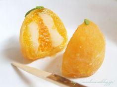 オレンジ大福