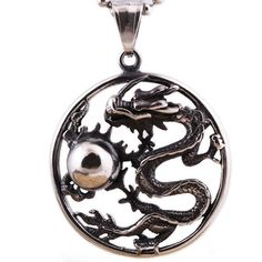 High quality Stainless steel Song Of Ice And Fire Game Of Thrones Targaryen Dragon Badge Necklace