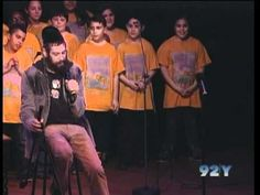 """ON NATURE"" Matisyahu, DP Dave Holmes & PS22 Chorus at 92nd Street Y (PRO SHOT!!)"