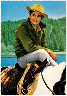 Little Joe atop His Gorgeous Horse Cochise.