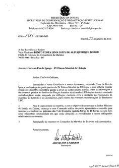 Ministério da Defesa do Brasil agenda reunião para discutir a liberação dos documentos secretos sobre os OVNIs / UFOs