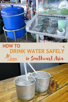In many parts of the world, you don't have to worry much when you drink water from the tap. Southeast Asia, is unfortunately not one of those places. As we set off for our quest to eat our way through Southeast Asia, having clean and safe drinking water was a big concern.