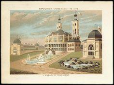 Exposition Universelle de 1878 - Palais du Trocadéro