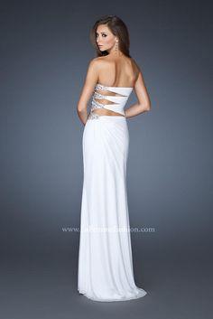 Photos of La Femme Dress 18771 at Peaches Boutique