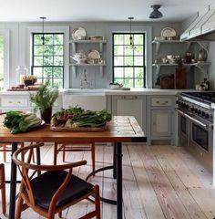 Kitchen paint work | Stephen Gambrel via Instagram