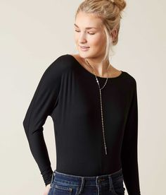 Billabong Think Twice Bodysuit - Women's Bodysuits in Black | Buckle