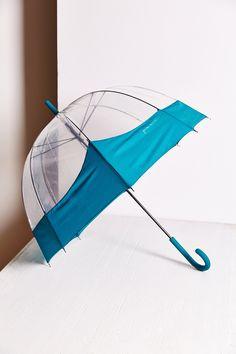 Hunter Colorblock Bubble Umbrella
