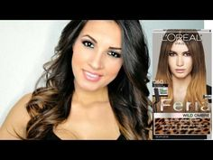 Diy ombrehair ombre highlights with loreal touch on highlight kit loreal feria wild ombre brush on ombre effect medium to dark 060 ombre hair tutorialdiy solutioingenieria Image collections