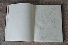 p18. Front schets monster