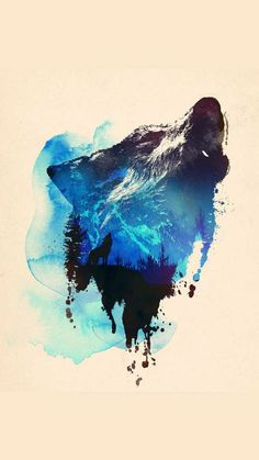 Pin It Pin It Pin It Alone as a wolf T-shirt Design by Robert Farkas a. astronautARC Hüman / Hungary / Member Since March 2012 Alone as a wolf You can buy this t-shirt from designbyhumans. Art And Illustration, Fuchs Illustration, Watercolour Illustration, Art Watercolour, Flower Watercolor, Watercolor Tattoos, Wolf Painting, Painting Prints, Art Prints