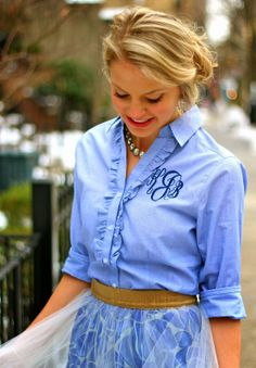 The Monogrammed Life: Fashion Friday: Prep + Twirl