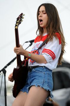 Danielle Haim (photo by Andy Holzman)
