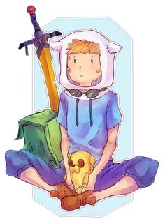 [Collab] Adventure Time: Finn the Human by weirdspaceninja on DeviantArt Adventure Time Tumblr, Watch Adventure Time, Adventure Time Anime, Fin And Jake, Jake The Dogs, Fanart, Adveture Time, Armadura Cosplay, Adventure Time Wallpaper