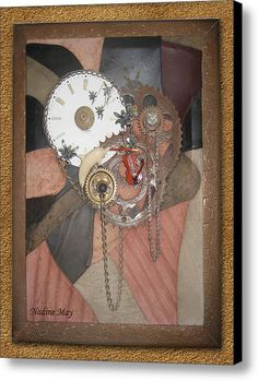 Timepiece Canvas Print / Canvas Art By Nadine May