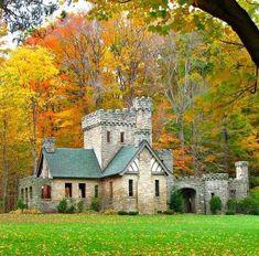Squires Castle, Willoughby Hills, Ohio #pretty  http://loci.sh/S4KiEk