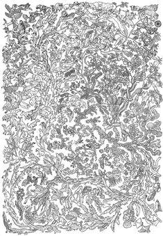 Black and white evolution poster