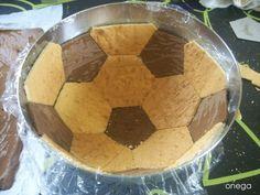 Tarta balón de fútbol | Magia en mi cocina | Recetas faciles de cocina paso a paso