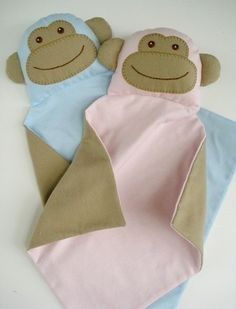 (9) Name: 'Sewing : Monkey Blankie for Baby