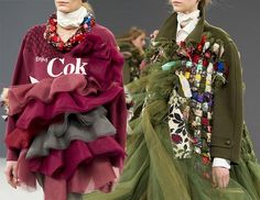 Viktor & Rolf Couture Fall/ Winter 2016-2017 Collection #runway #hautecouture #couture