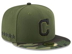 Cleveland Indians New Era 2017 MLB Memorial Day 59FIFTY Cap 915220744ed