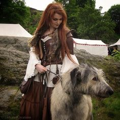 An IRISH Wolfhound.  :-)